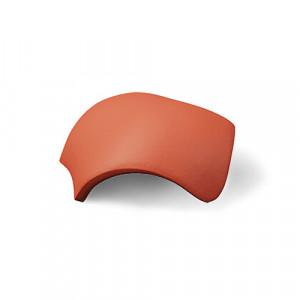 Вальмовая черепица с зажимами (3 шт) Braas Эво Красный