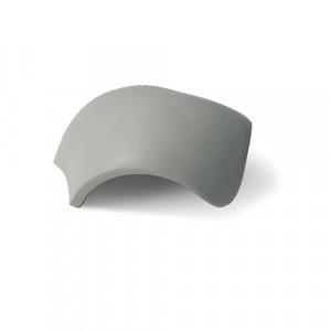 Вальмовая черепица с зажимами (3 шт) Braas Франкфуртская Серый