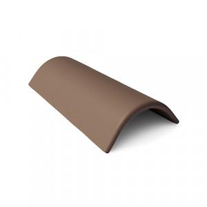 Коньковая черепица с зажимом Braas Таунус 450 мм Темно-коричневый