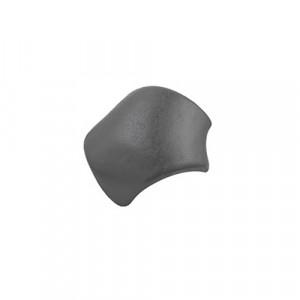 Вальмовая черепица с зажимами (3 шт) Braas Тевива Графит