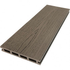 Террасная доска ДПК М-пласт 146х23 мм Текстура дерева односторонняя Венге