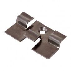 Кляймер рядовой WPC-Deck нержавеющая сталь, зазор 4.0-5.5 мм