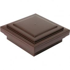 Крышка на столб ДПК WPC-Deck 100х100 мм Шоколад