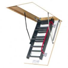 Складная лестница металлическая Fakro LMK 280 см 60х120 см