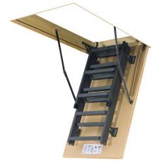 Складная лестница металлическая Fakro LMS 280 см 60х120 см