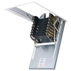 Чердачная лестница металлическая Fakro LSF 300 см 50х70 см