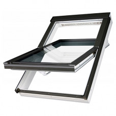 Мансардное окно Fakro PTP U4 из ПВХ 55х78 см