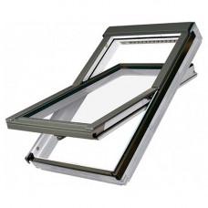 Мансардное окно Fakro PTP-V U3 из ПВХ 55х78 см