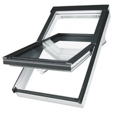 Мансардное окно Fakro PTP-V U5 из ПВХ 55х78 см