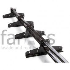 Снегозадержатель трубчатый Faracs Premium 3 м (4 опоры) d45х25 мм