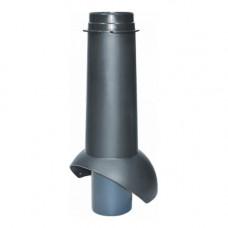 Вентиляционный выход Krovent Pipe-VT 110/24 изол/500 Черный