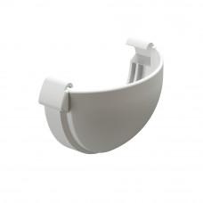 Заглушка желоба ПВХ Docke Lux 141/100мм Пломбир