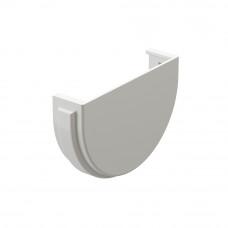 Заглушка желоба ПВХ Docke Premium 120/85мм Пломбир