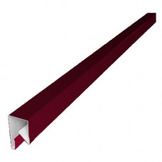 Планка П-образная заборная Grand Line 17 PE 0.45 мм 3 м